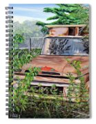 Old Truck Rusting Spiral Notebook