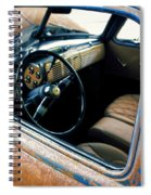 Old Truck Rusty Spiral Notebook