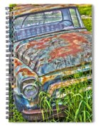001 - Old Trucks Spiral Notebook