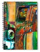 Old Trucks Spiral Notebook