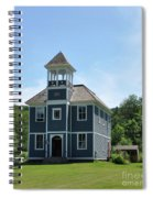 Old Two Room School House Spiral Notebook