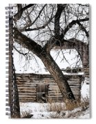 Old Ulm Barn Spiral Notebook