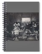 Old Varsity Men Break In And Give Advice, First State By George Bellows  Spiral Notebook
