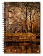 Old Village - Allaire State Park Spiral Notebook