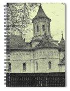 Old Village Church Spiral Notebook