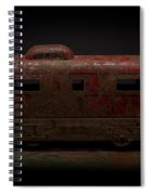 Old Vintage Caboose Number 624 Spiral Notebook