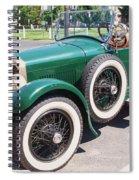 Old  Vintage Car Spiral Notebook