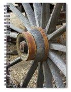 Old Waagon Wheel Spiral Notebook