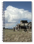 Old Wagon Out West Spiral Notebook
