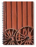 Old Wagon Wheels IIi Spiral Notebook