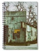 Old Warehouse Spiral Notebook