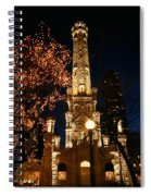 Old Water Tower, Intersection Spiral Notebook