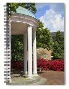 Old Well At Chapel Hill In Spring Spiral Notebook