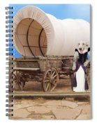 Old West Dogs Spiral Notebook
