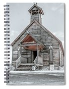Old West Church Spiral Notebook