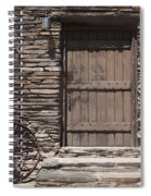 Old West Spiral Notebook