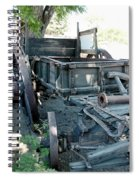 Old West Wagon Train Down Spiral Notebook