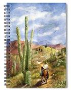 Old Western Skies Spiral Notebook
