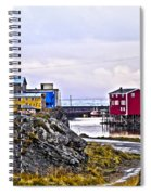 Old Whaling Village Nyksund Spiral Notebook