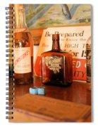 Old Whiskey Spiral Notebook