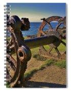 Old Winch Tintagel Spiral Notebook