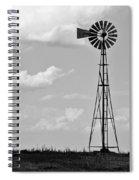 Old Windmill II Spiral Notebook