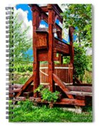Old Wine Press Spiral Notebook