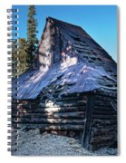 Old Witch Hat Gold Mine Spiral Notebook