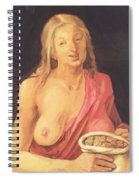 Old With Purse 1507 Spiral Notebook
