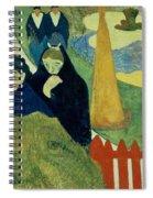 Old Women Of Arles Spiral Notebook