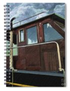 Old Wood Boat Spiral Notebook
