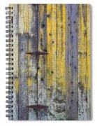 Old Wooden Barn Spiral Notebook