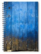 Old Wooden Door Spiral Notebook