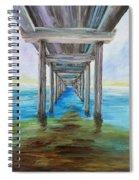 Old Wooden Pier Spiral Notebook