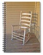 Old  Wooden  Rocking  Chair Spiral Notebook