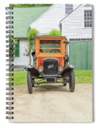 Old Woodie Model T Ford  Spiral Notebook