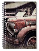 Old Work Trucks Spiral Notebook