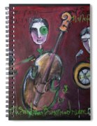 Olde Town Swing Band Spiral Notebook