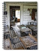Oldest School House C. 1863 - Montana Territory Spiral Notebook