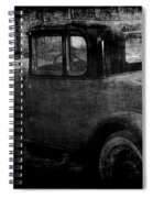Oldie 1 Bw Spiral Notebook