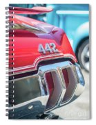 Olds 442 Classic Car Spiral Notebook