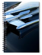Old's 88 Hood Ornament  Spiral Notebook