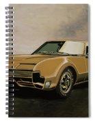 Oldsmobile Toronado 1965 Painting Spiral Notebook