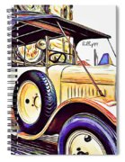 Oldtimer 2 Spiral Notebook