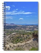 Olduvai Gorge - The Cradle Of Mankind Spiral Notebook