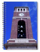 Ole Miss Bell Tower Spiral Notebook