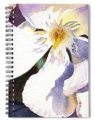 Oleander Close Up  Spiral Notebook