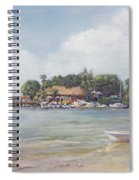 O' Leary's Tiki Bar And Grill On Sarasota Bayfront Spiral Notebook