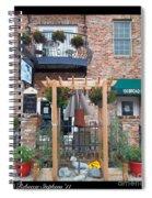 Olive Affairs Restaurant Spiral Notebook