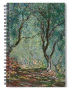 Olive Trees In The Moreno Garden Spiral Notebook